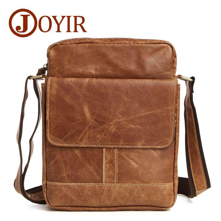 2017 Lxury Brand Men Messenger Bag 100% Genuine Leather Small Men Bags Designer Crossbody Bag Cow Leather Shoulder Bags #Affiliate