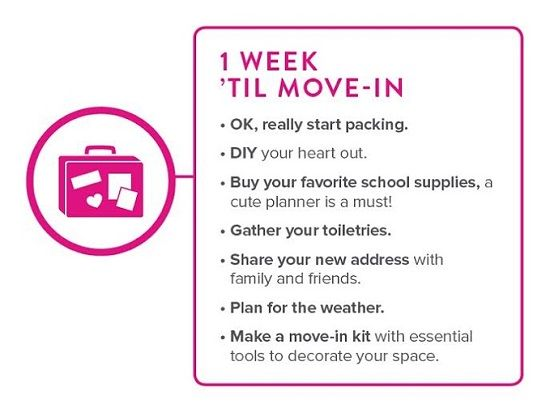 From Store.dorm Decor.com · 1 Week Til Move In