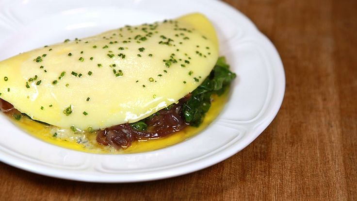Recipe for Omelet 'Du Jour' from Au Cheval. Continuous stirring creates a silky texture, and the brief cooking time results in an even, pale yellow complexion.: Jour Recipe, Chicago Au, Dinners Recipes, One Word, Au Cheval, Omelets Du, Eggs Recipes, Day, Breakfast Recipes