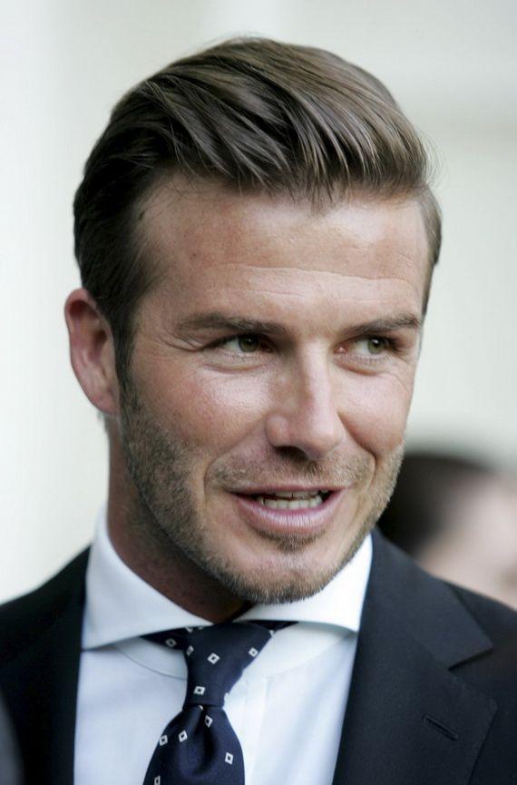 David Beckham. Love this hairstyle for men