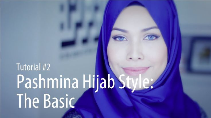 [Adlina Anis] Hijab Tutorial 2 | The Basic Pashmina