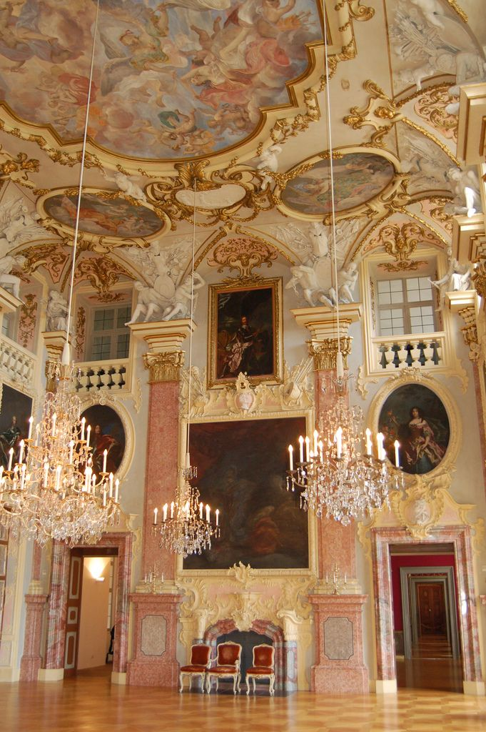 Rastatt Schloss - Baden-Württemberg, Germany The palace and the Garden were built between 1700 and 1707 by the Italian architect Domenico Egidio Rossi