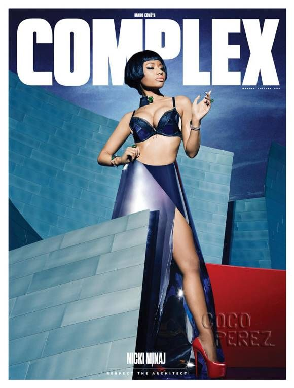 Nicki Minaj's Breast Assets Will Have Your Full Attention In Complex!