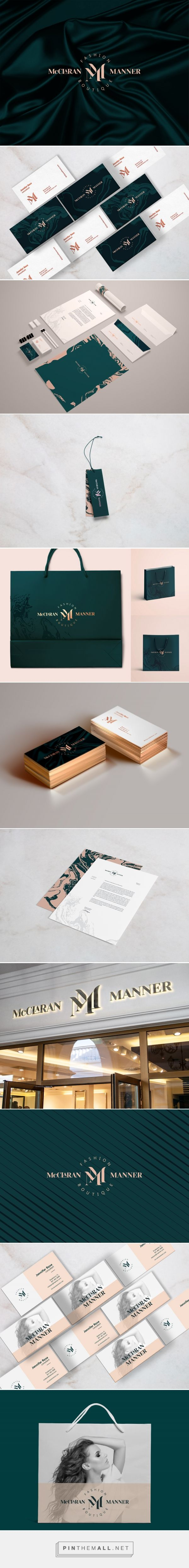 McClaran Manner Fashion Boutique Branding by Shane Wilson | Fivestar Branding Agency – Design and Branding Agency & Curated Inspiration Gallery