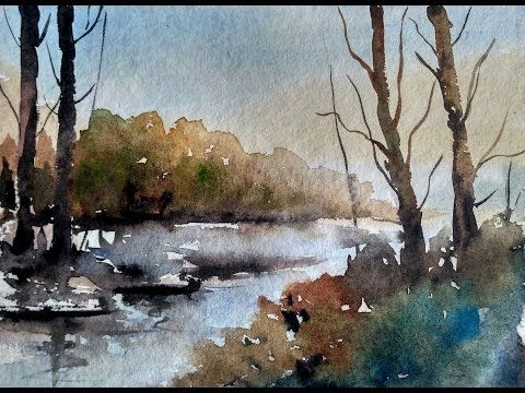 17 Best ideas about Watercolor Painting Tutorials on Pinterest ...