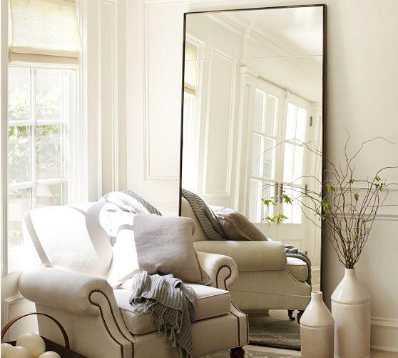 Oversized Leaning Floor Mirror