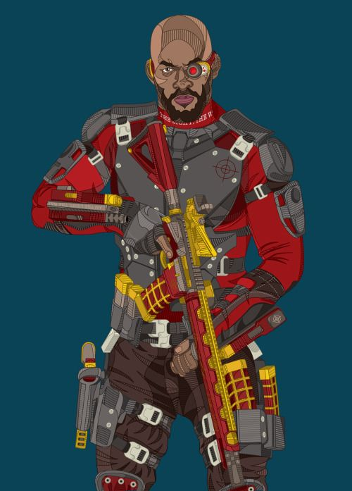 Suicide Squad: Deadshot - Dimos Stathis