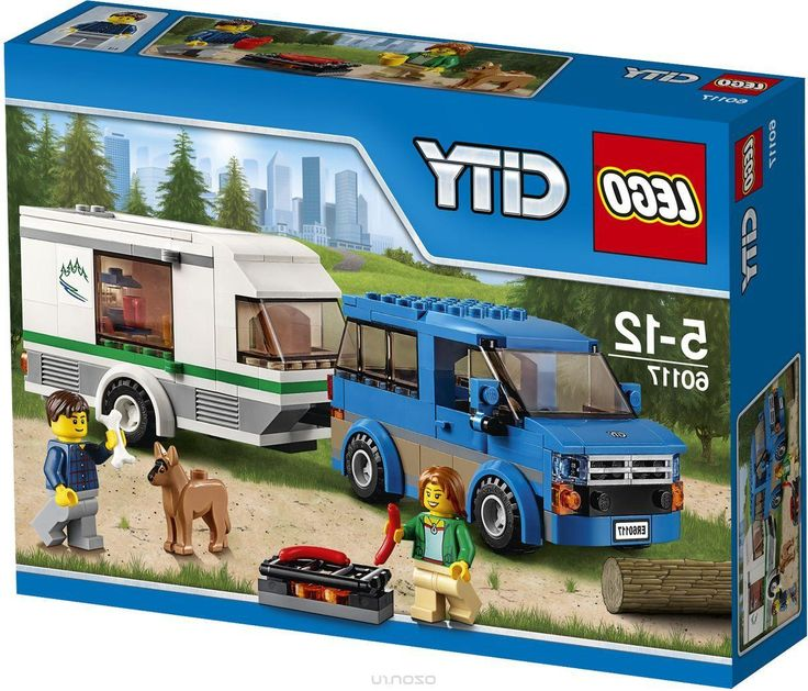 Lego City Конструктор Фургон и дом на колесах 60117
