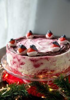 Iloleipuri - Punatulkkujen joulukakku
