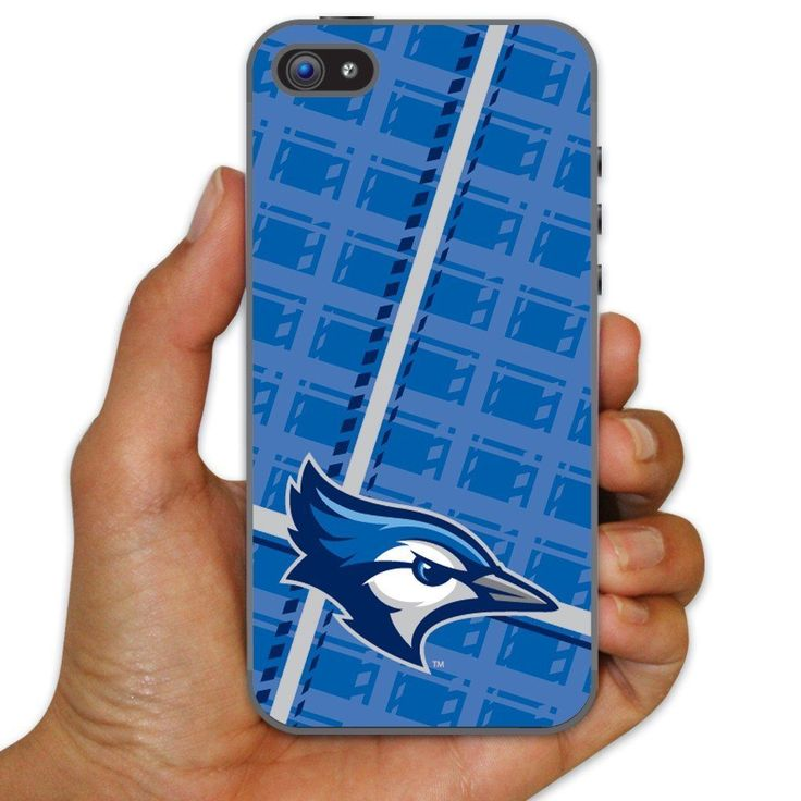 Creighton University Clear Plastic Slim Case for iPhone 5c - Plaid