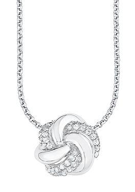 Halskette mit Knotenanhänger von s.Oliver