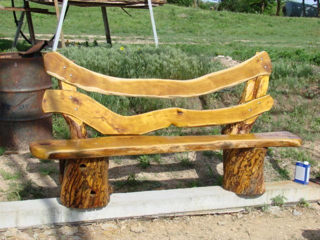 Osage Orange Bench   The Wood Whisperer