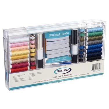 AU24.99 plus postage - Semco Large Sew & Repair Kit Multicoloured from Spotlight Australia  (price correct as at 01.10.17)