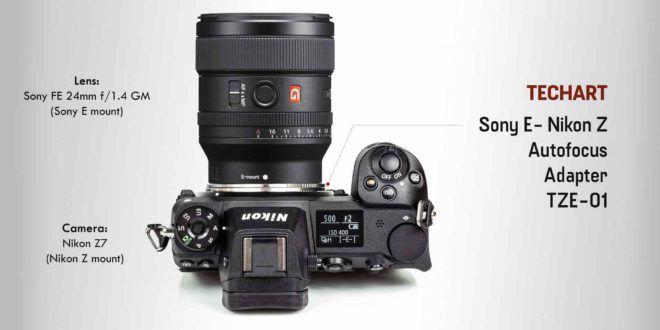 Techart TZE-01: World's first Autofocus Adapter helps Sony E Lenses