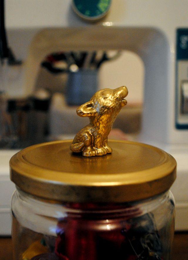 Bocal Couvercle Animal / Animal Jar