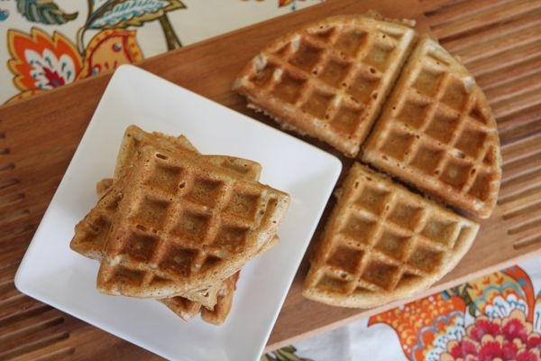 Whole Grain Waffles from Our Best Bites | foodalicious! | Pinterest ...