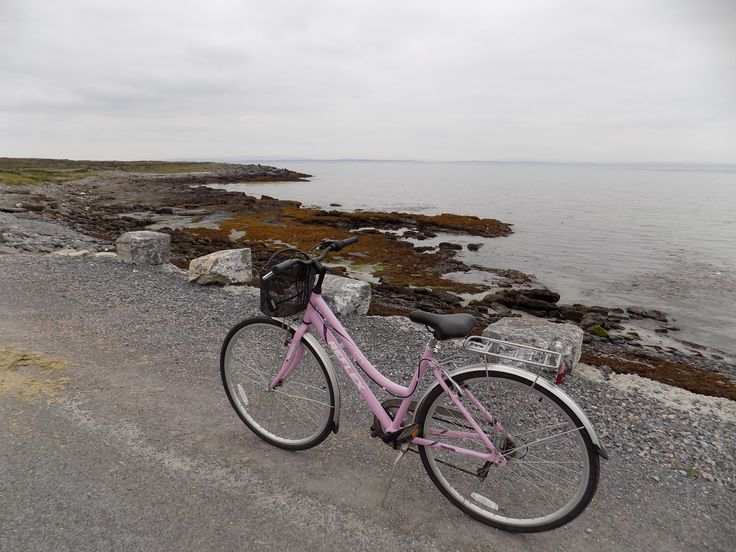 Aran Islands - Inishmore, on the Galway coast. You can go around the island by bike, it's quite easy, and the best way to really see the amazing landscape!