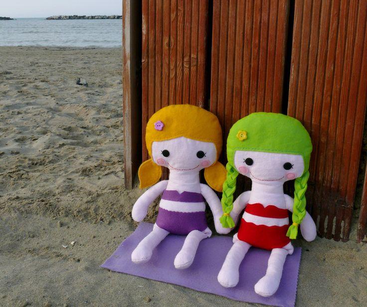 bambole di pezza fatte a mano con amore!   stoffpuppen handgefertigt