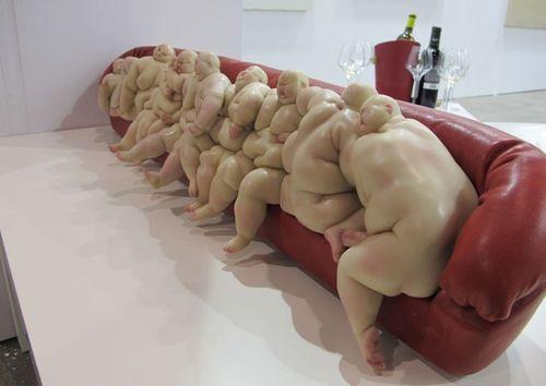 Mu Boyan: Realistic Sculpture, Art Sculpture, Mu Boyan, Hyper Realistic, Art Photography, Artists Mu, Art Installations, Us, Chinese Artists