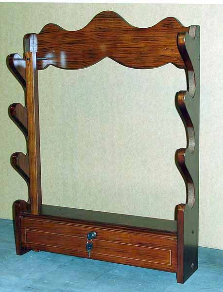 Locking Wall Gun Rack Plans Woodworking Projects Amp Plans