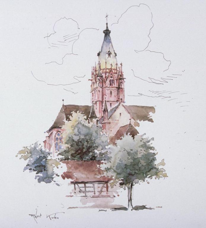 Wissembourg Robert Kuven Eglise St Thomas (TR)