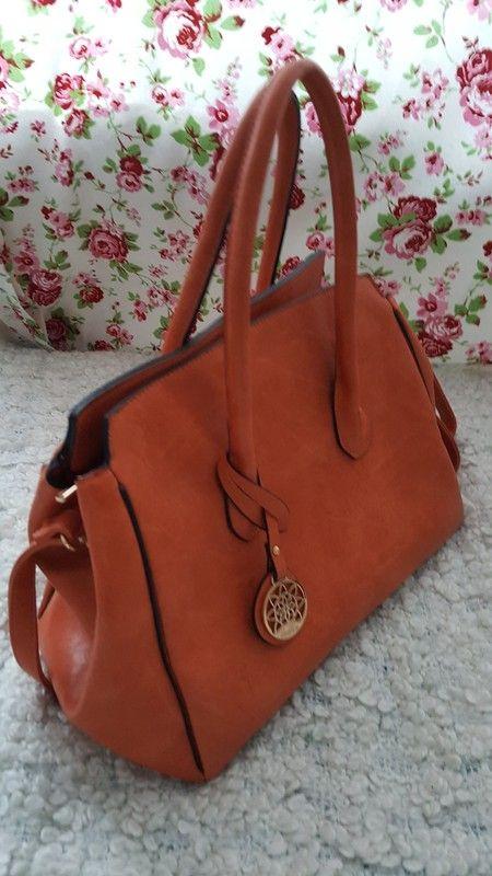 Tasche Handtasche orange neu