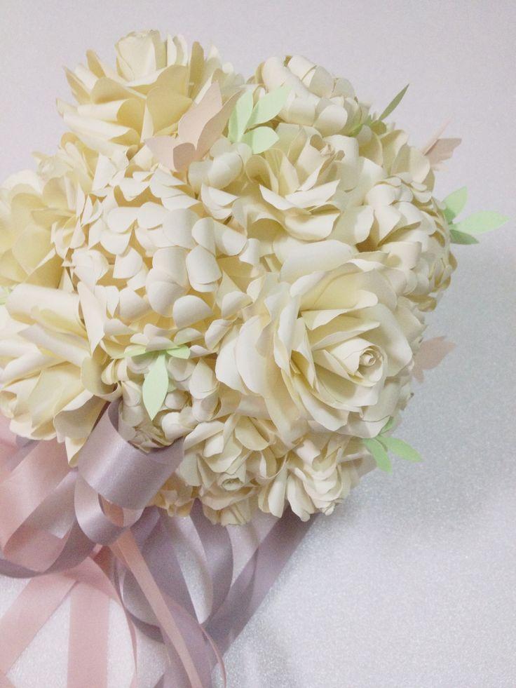 Paper Flower Bouquet Paper Flowers Pinterest