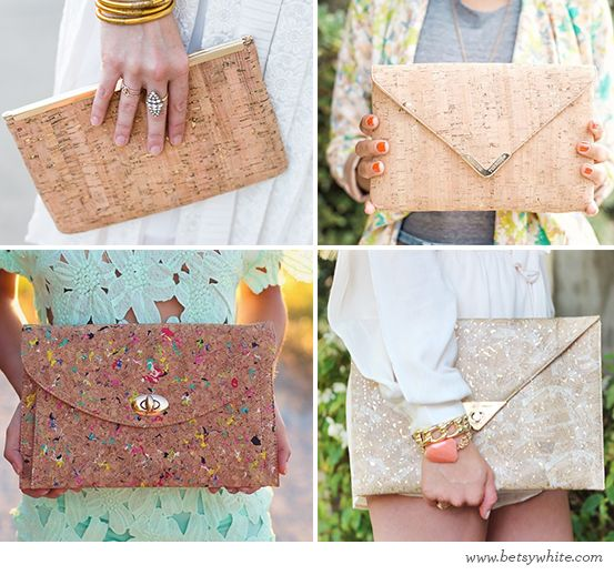 Cork Coolness | Flights of Fancy: Blog Contributor, Fancy Favorite, Natural Neutrals, Fancy Blog, Los Complementarios, Hands Bags