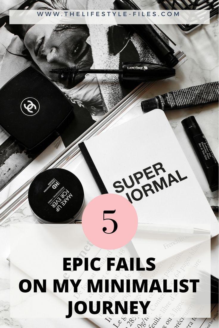 5 things where I failed my own minimalist principles