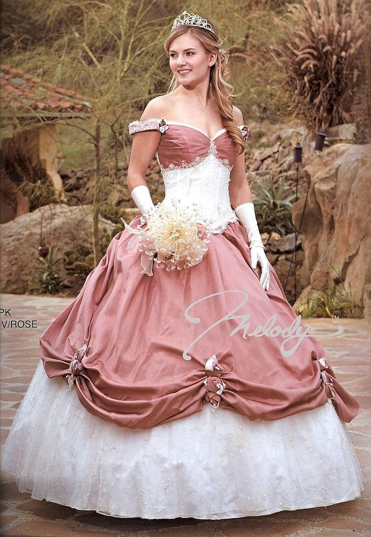 Quinceanera Dresses<BR>Wedding Dresses<BR> 622 <BR>Wedding in Rose! INCLUDES HANDBAG