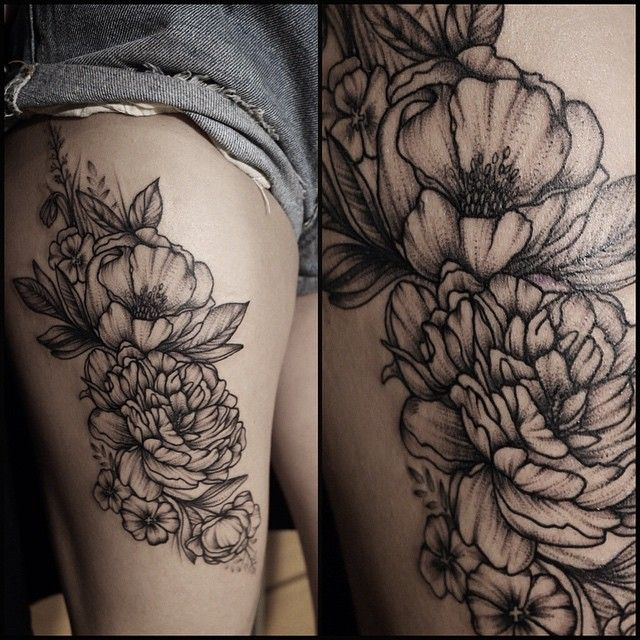 #flowerstattoo#tattoo#tats #inked #peonytattoo #peony#фиалки#травытату#травы #instadaily #instamood #дотворк#точки#точкитату#annabravo #dotwork #blacktattoo #black #питертату#татуспб Спасибо Кате за терпение)