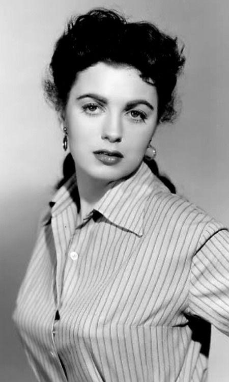 je-randolf: actress Faith Domergue (1925 - 1999)   Hughes...