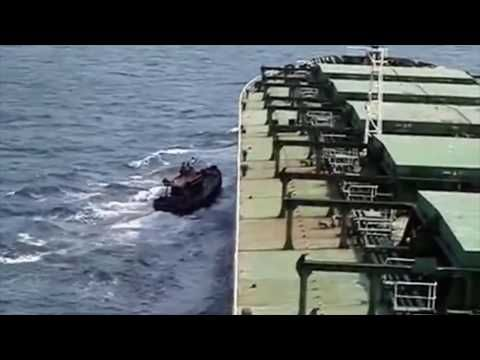 Somali pirates mess with the wrong ship - YouTube | Curtis
