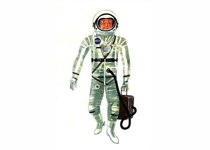 Astronaut Illustration | www.imgkid.com - The Image Kid ...