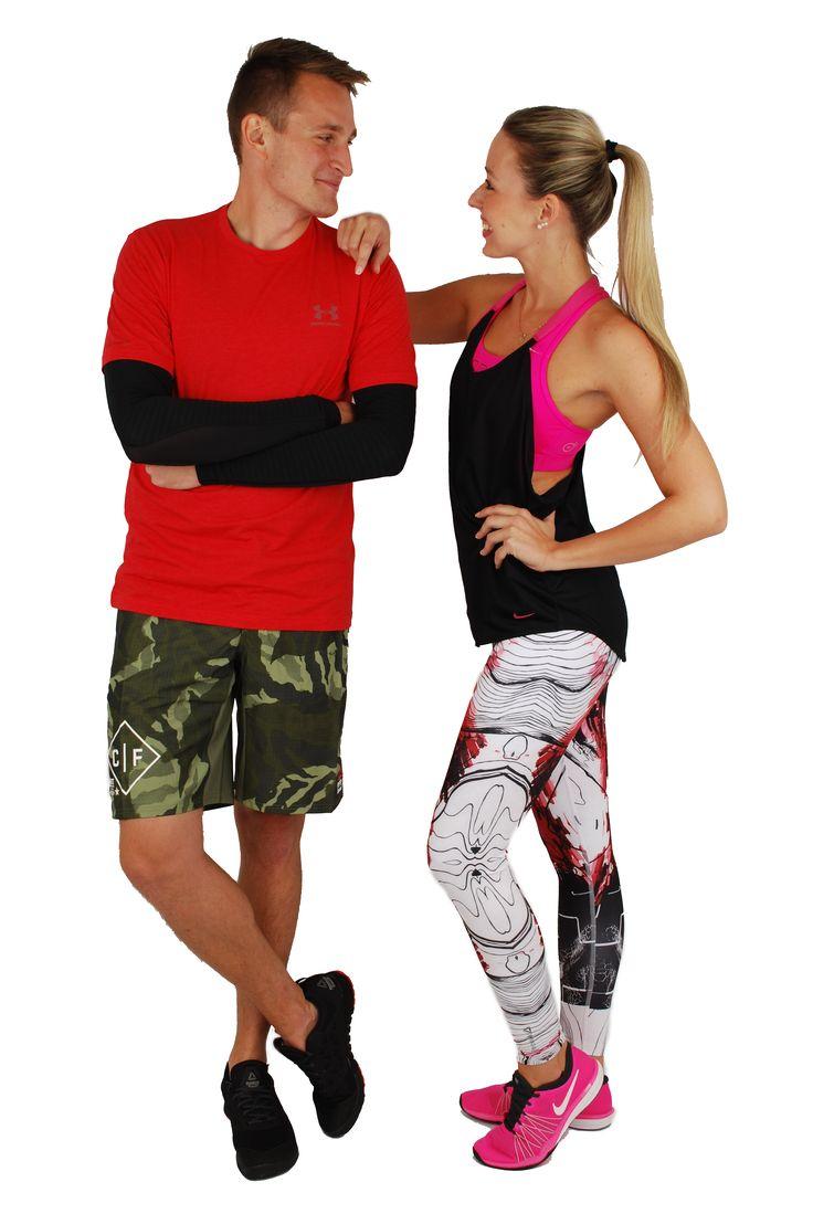 Sportovní oblečení a obuv na fitness