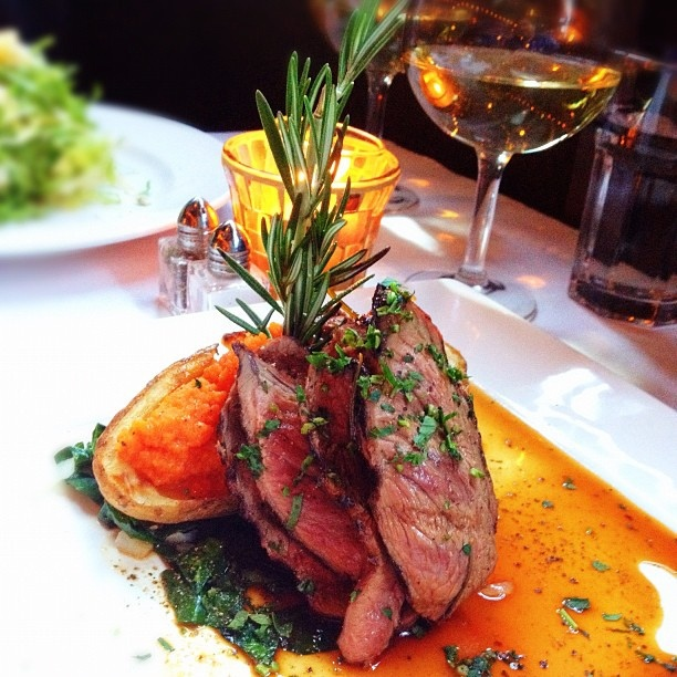 Legendary Roasted Leg of New Zealand Lamb ~ an upscale delight.