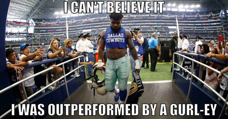 The best fan-made memes from Cowboys-Rams: Dak, Zeke bewildered by the loss