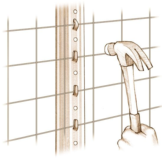 Iwelded vs woven wire mesh?? Mesh Fencing Installation Basics - DIY - MOTHER EARTH NEWS