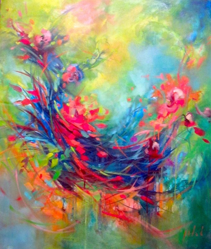 Best 25 bright abstract art ideas on pinterest abstract for Inspirational paintings abstract