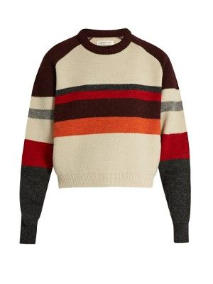 Dinky striped-wool sweater | Isabel Marant Étoile | MATCHESFASHION.COM AU