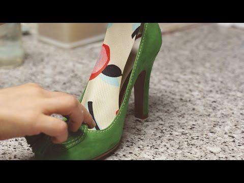 Dale vida nueva a tus zapatos viejos: ¡decóralos a tu gusto! - YouTube