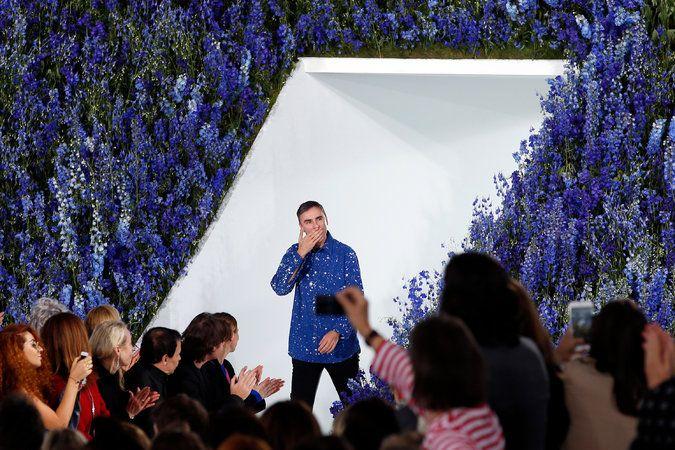 Raf Simons Bids Farewell to Dior - The New York Times