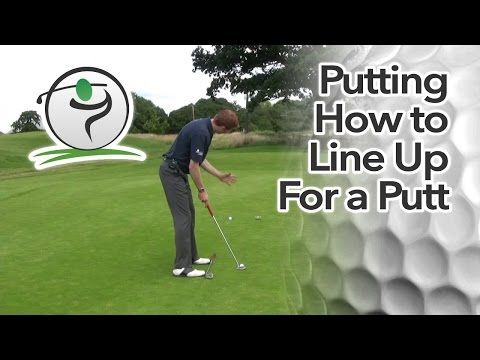 In this first part, we'll look at putting alignment…  As with the full swing, alignment is something that appears so obvious and so simple that we forget to check it on a regular basis.  Use this video lesson as a reminder that each time you're on the practice putting green you need to pay close attention to the alignment of your feet, your hips and your shoulders.