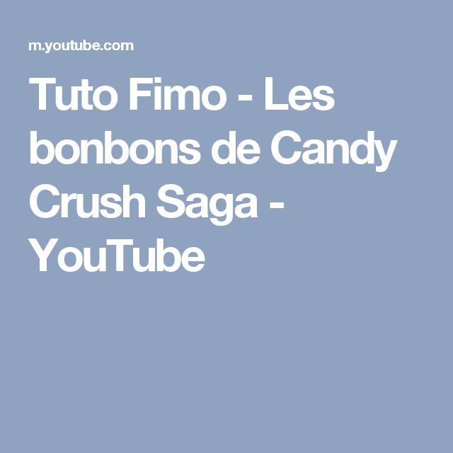 Tuto Fimo - Les bonbons de Candy Crush Saga - YouTube