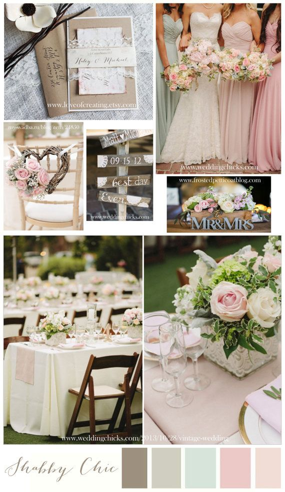 Shabby Chic Wedding Invitation. Lace Wedding por LoveofCreating