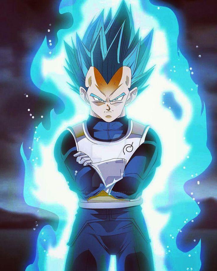 Super Saiyan God (2nd Phase) Vegeta