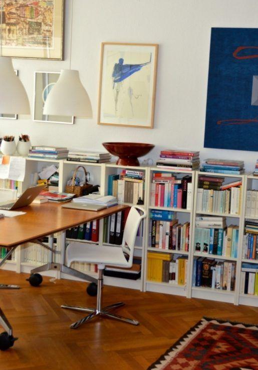 Bücherregal mit büchern hochkant  66 besten Bücherregale, Bookshelfs, Home Library Bilder auf ...