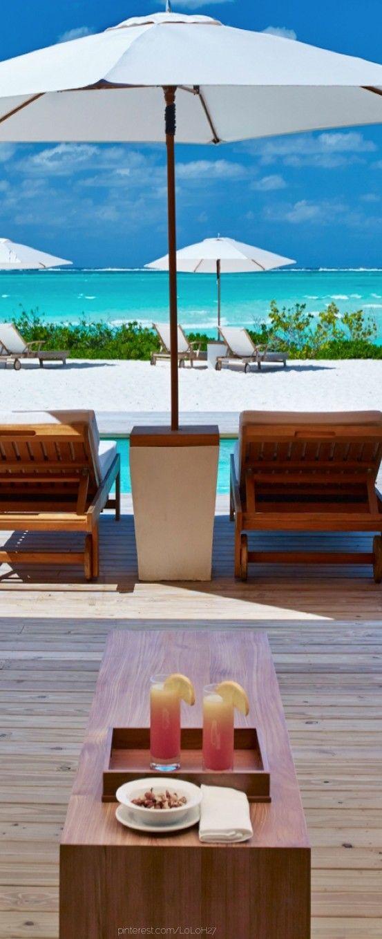 Parrot Cay...Turks and Caicos. Luxury personified! ASPEN CREEK TRAVEL - karen@aspencreektravel.com