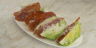 Iceberg Salad with Crispy Maple-Glazed Prosciutto - LifeStyle FOOD