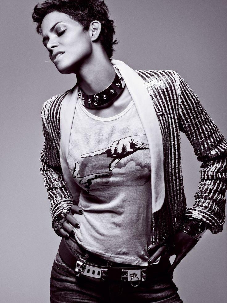 Halle Berry by Cedric Buchet for T Magazine